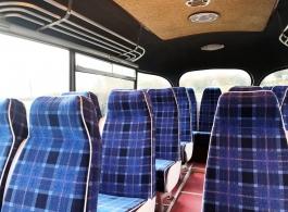 Vintage bus for wedding hire in Hailsham